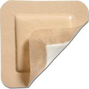 "Mepilex Border Self-Adherent Foam Dressing 4"" x 4"" SC295300"