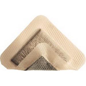 "Molnlycke Mepilex® Ag Border, Antimicrobial, Sterile, Adhesive 4-6/5"" x 4-6/5"" Sacrum SC382490"