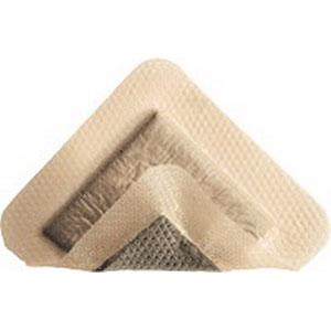 "Molnlycke Mepilex® Antimicrobial Border Ag Post, Sterile, Adhesive, 4"" x 12"" SC395990"