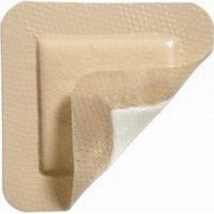 "Lyofoam Max T Adhesive Polyurethane Foam Dressing 3.5"" x 3.5"" SC603207"