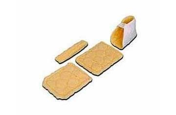 "Premium Quilt CPM Patient Leg Kit, 1/2"""" Thick Foam SLC100A"