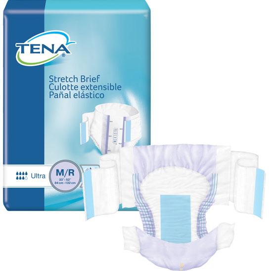 """TENA Stretch Ultra Brief Medium 33"""" - 52"""" SQ67802"""