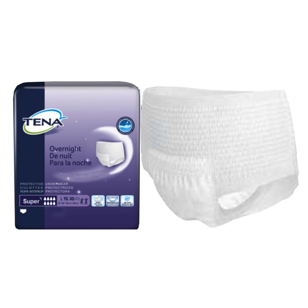 """TENA Protective Underwear, Overnight Super, Large, 45""""- 58"""" SQ72325"""