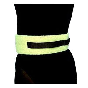 "Scott Specialties Gait Belt with Velcro 3"" W X 72"" L Beige, Fits Waists 40"" to 60"", With Handles SS054272"