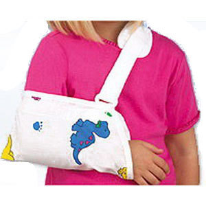 """Pediatric Arm Sling, Envelope Type,Large 10""""X6"""" SS1214LG"""