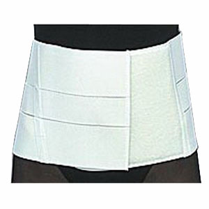 "Scott Specialties Lumbosacral Support with Insert Pocket Large 36"" to 44"" Waist, 8"", Moldable, White SS3080LG"