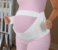 Scott Specialties Comfy Cradle Maternity Lumbar Support without Insert, Large or Extra-large, White SS3090LGXL