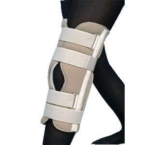 "Scott Specialties 3-Panel Knee Immobilizer Universal 20"" L, Beige SS3320"