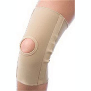 "Scott Specialties Slip-on Knee Compress Large 11"" L, 17-1/2"" to 20"" Knee Circumference, Beige, Latex-free SS3611LG"