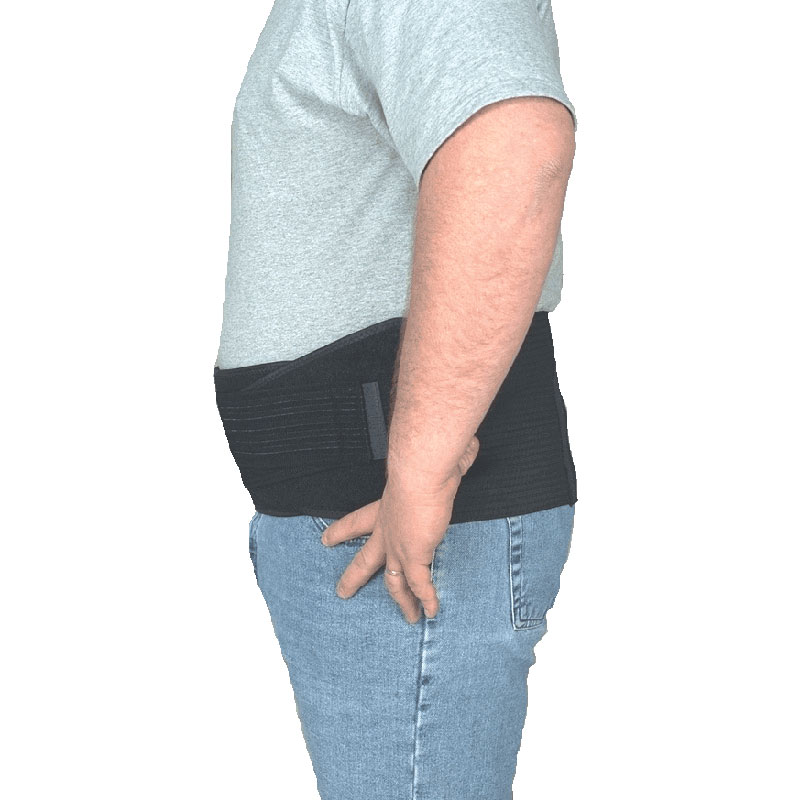 Leader X-Tended Back/Abdominal Support, Black, Universal SS4915260
