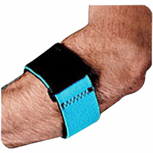 "Blue, Un (7""""-15"""") Neoprene Tennis Elbow Strap SS9032"