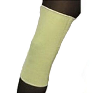 "Scott Specialties Neoprene Knee Sleeve with Closed Patella Large 15"" to 17"", 12-1/2"" L X 1/8"", Beige SS9052LG"
