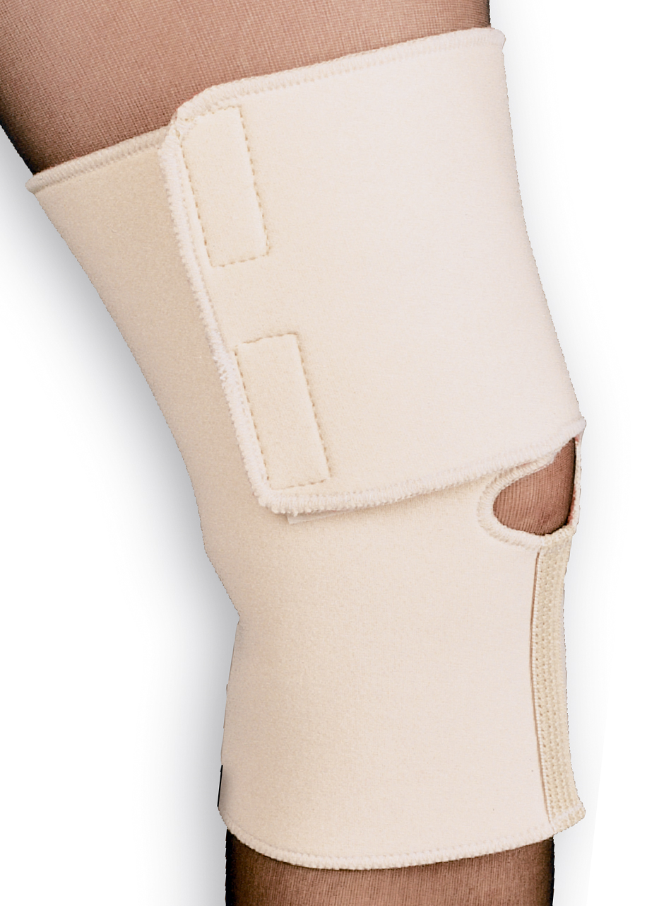"Scott Specialties ThermaDry® Arthritis Knee Wrap Large, 15"" to 17"" Knee Circumference, Beige SSAL6451LG"