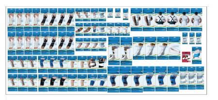 Orthopedic Planogram 2 ft. SSISG559P2O