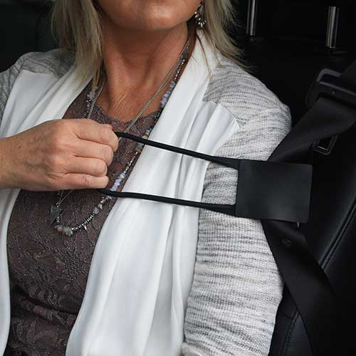 Stander Grab N Pull Seatbelt Reacher, 300 lb Capacity, Black STD2083