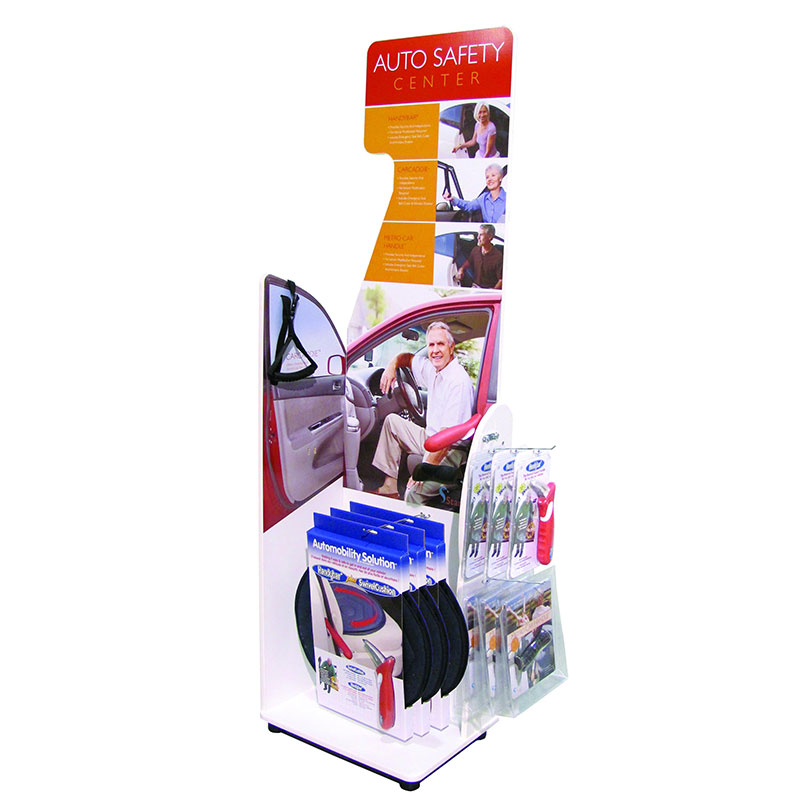 Stander Auto Safety Products Display STD2111