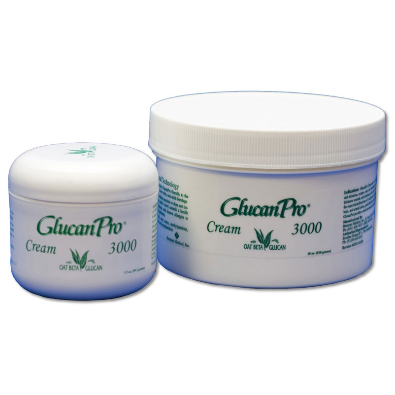 Stellen GlucanPro® 3000 Oat Beta-Glucan Burn and Wound Cream, 18 oz Jar STLGPC3018004