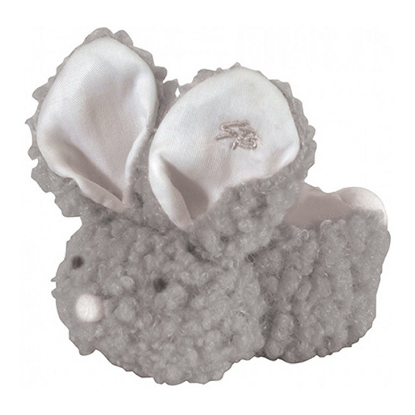 Boo-Bunnie Comfort Toy, Woolly Gray STP692506
