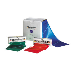 Hygenic Thera-Band® Exercise Band 50 yds Roll, Heavy TB11728
