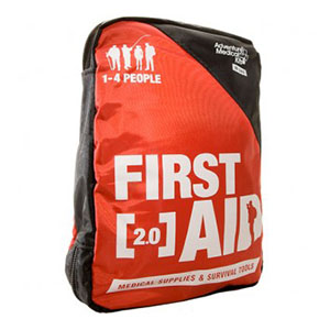 """Tender Corp Adventure 2.0 First Aid Kit 6"""" x 8-1/2"""" x 1-1/2"""" Manage Fractures and Sprains, Pain and Illnesses TEN01200220"""