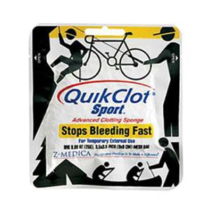 Tender Corp QuikClot® Sport Adventure Medical Kit 50g, Stop Bleeding Fast, Keep Wounds Clean, Beat the Heat TEN50200007