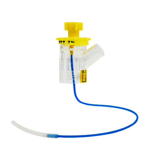 Standard Flow Nebulizer, Large Volume, 12 LPM Jet, Short Draw Tube TI301P3000N