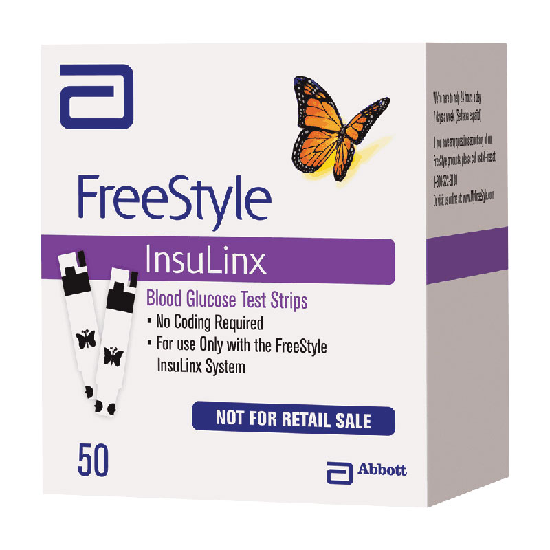 FreeStyle Insulinx Blood Glucose Test Strip (50 count) TW7123170