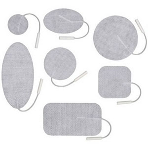 "Uni-Patch™ Choice Cloth Stimulating Electrodes 2"" x 3-1/2"" Diameter Rectangle UP3120C"