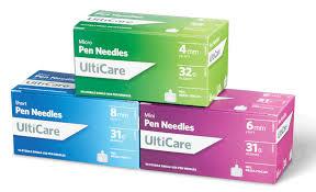 UltiCare Pen Needle 31G x 6 mm (90 count) UT71000