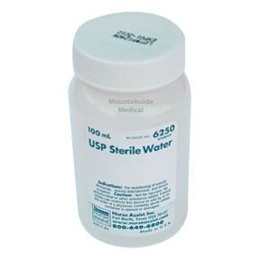 USP Sterile Water For Irrigation 120mL WE6210