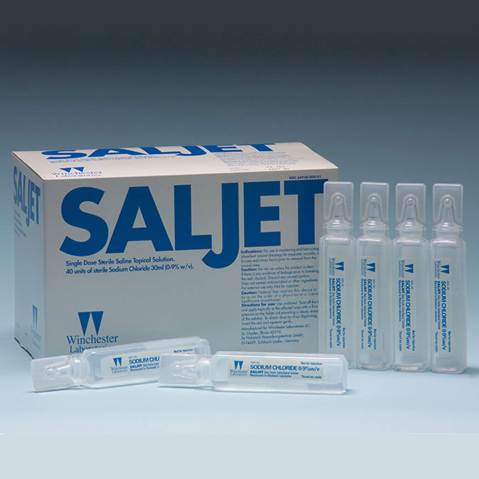 Saljet Single-Use Saline for Irrigation, 30 mL, 0.9% WL6493800901