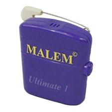 """Bedwetting Store Malem Wearable Enuresis Alarm 2-1/9"""" x 2"""" x 4/5"""", Purple, Lightweight WSM043"""