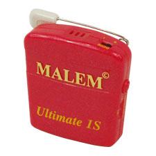 "Bedwetting Store Malem Wearable Enuresis Alarm 2-1/9"" x 2"" x 4/5"", Magenta WSM04S"