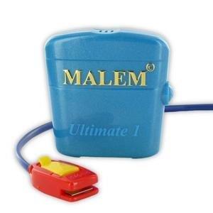 "Bedwetting Store Malem Wearable Enuresis Alarm 2-1/9"" x 2"" x 4/5"", Royal Blue,  WSM04SB"