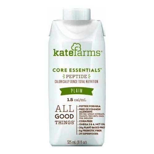 KATE FARMS Peptide Formula 1.5 Plain 500 calories (325 mL) XK851823006379