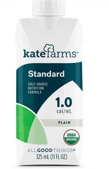 KATE FARMS Standard Formula 1.0 Plain, 11 fl oz (325 mL) XK851823006676