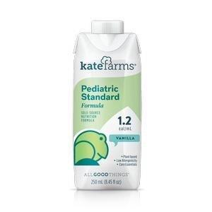 KATE FARMS Pediatric Standard Formula 1.2 Vanilla, 8.45 fl oz XKBV05VATAJ01