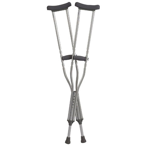 Cardinal Health™ Bariatric Crutch, Heavy-Duty, Adult, 650 lb Capacity ZCHCA801ADB