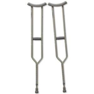 Bariatric Heavy-Duty Tall Crutches, Adult ZCHCA801TLB