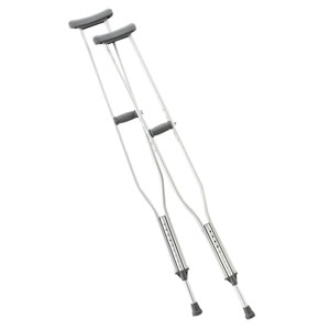 Cardinal Health™ Push Button Axillary Crutch, Tall ZCHCA901TL