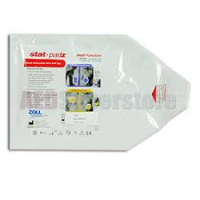 Zoll Stat-Padz™ ll Two-Piece Electrode Pad, For AED Plus® or AED Pro® Defibrillator ZOL89000801