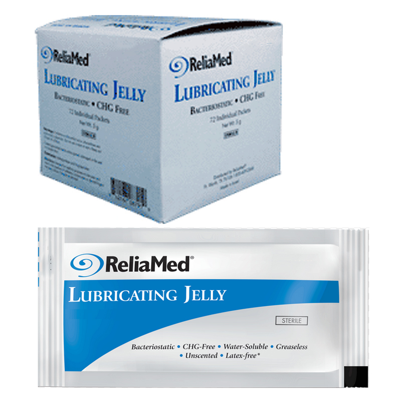 Cardinal Health Essentials Lubricating Jelly 5g Packet ZRLJ33183G